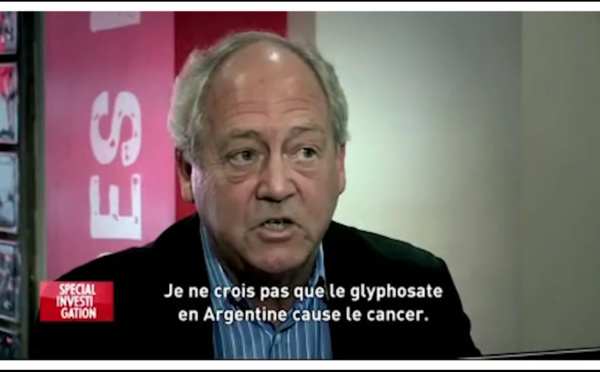 Pétition contre l'autorisation du glyphosate