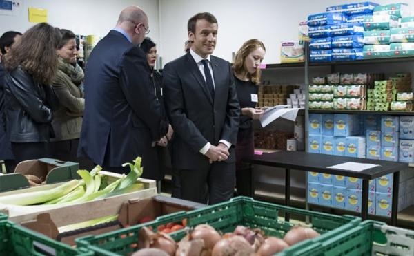 Macron au restos du cœur : quand l'indécence le dispute à l'arrogance !