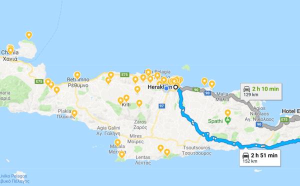 Balade à Ierapetra et Sitia (Crète)