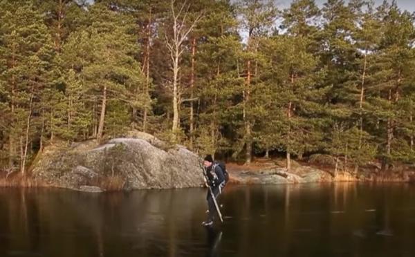 Ce patineur va vous faire vivre une expérience auditive unique et envoutante