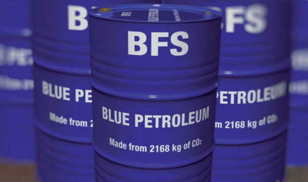Une découverte très interessante : le pétrole bleu !