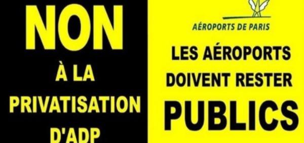 Combien de personnes soutiennent le R.I.P sur les aéroports de Paris ?