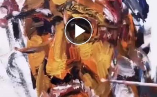 Un peintre de rue extraordinaire