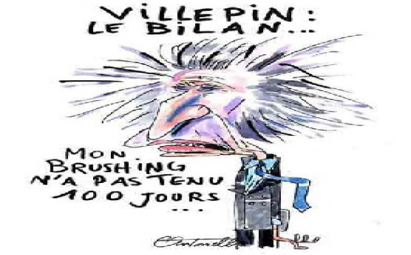 Chirac :-Vas-t-en ! Villepin :-Moi non plus !
