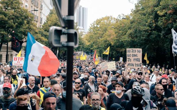 Retour sur la manifestation du 11 septembre à Paris
