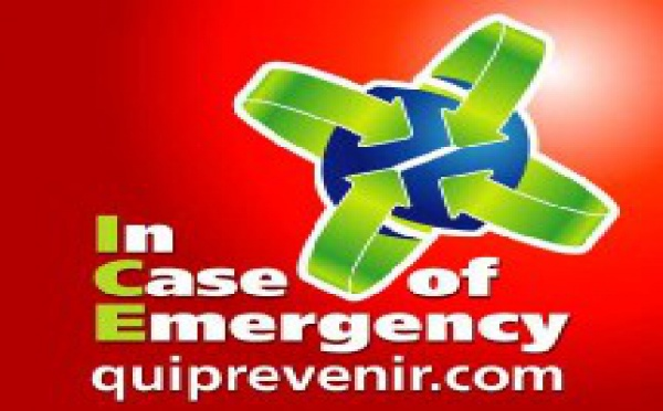 I.C.E (In Case Of emergency, En cas d'urgence)