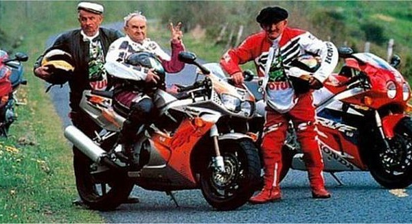 Vieux motard que jamais !